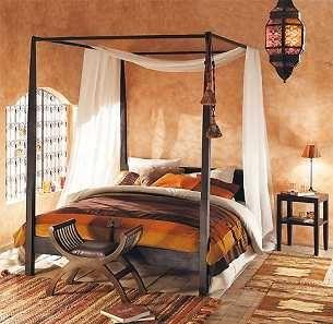 modelos actuales de camas con dosel dormitorio decora ilumina