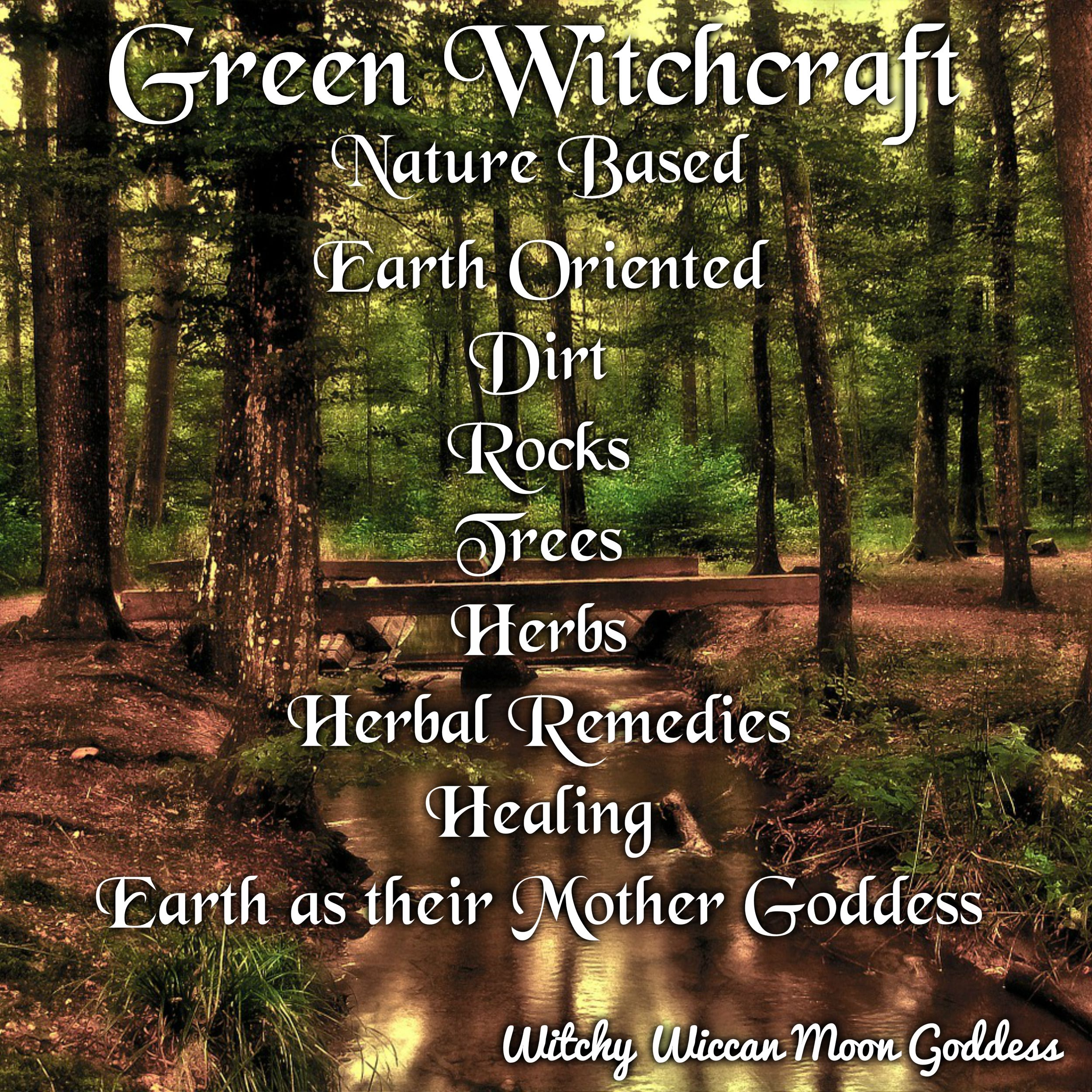 The Many Types of Witchcraft: Green Witchcraft #greenwitch #witchcraft #magick #healing #nature #greenwitchcraft