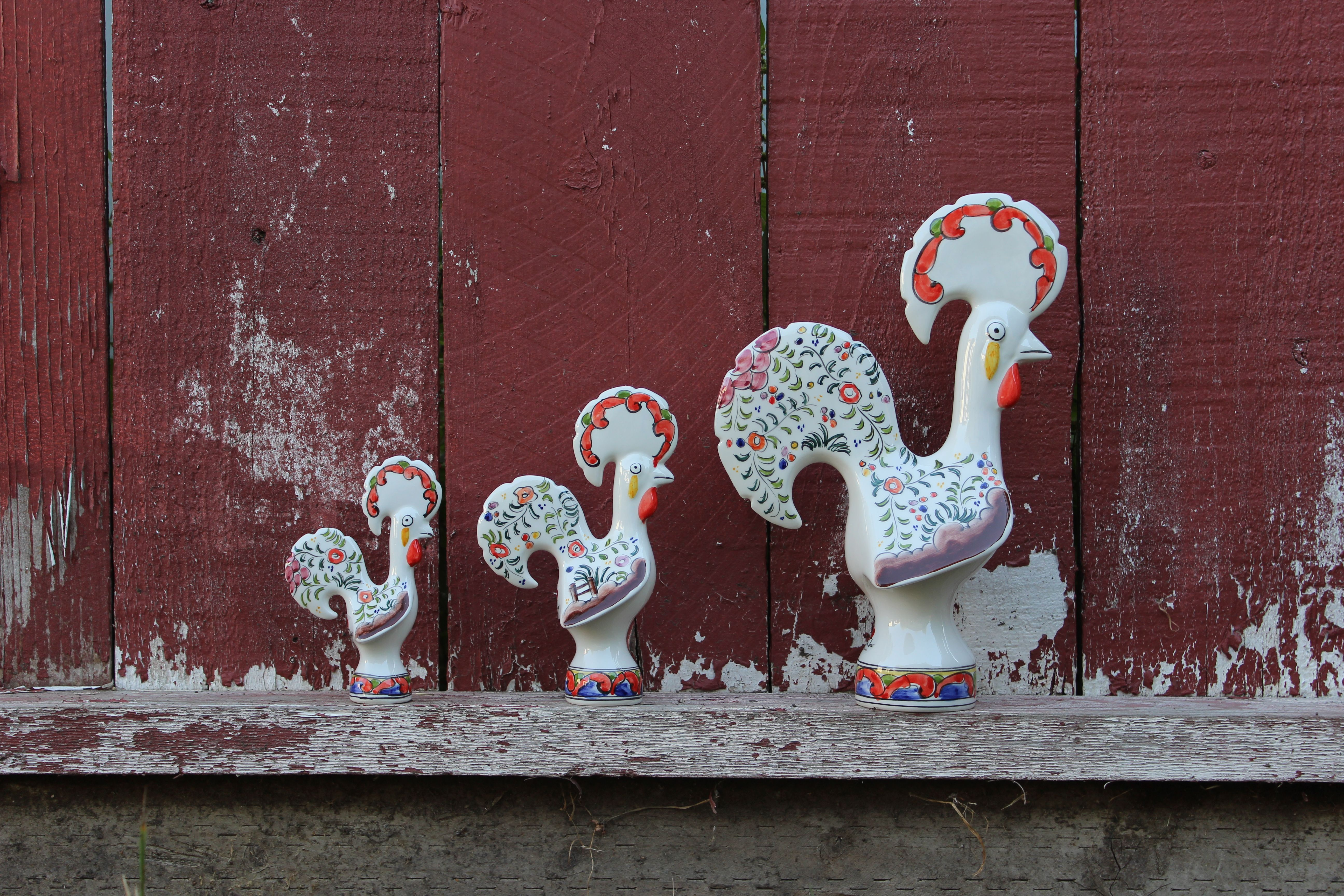 Galo de Barcelos.  www.coisanossa.com #galodebarcelos #portuguese #portugal #rooster