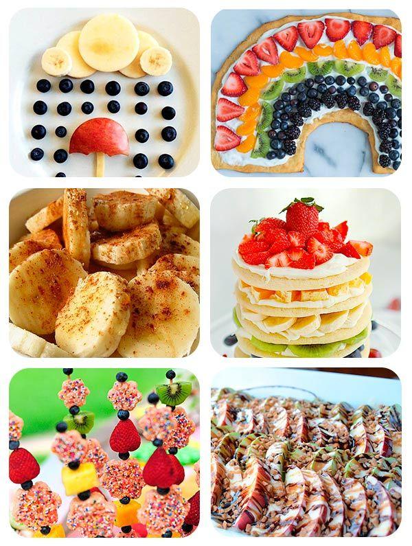 Recetas para ni os 64 ideas creativas con fruta candy for Comidas faciles de preparar