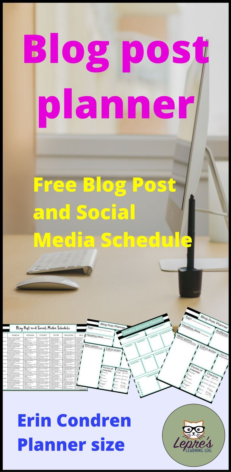 Blogging planner for teachers and students multiple sizes for your blog post planner printable free blog post planner printable blog post planner free maxwellsz