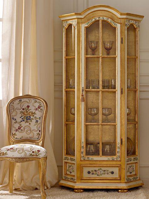 Italian luxury dining room wood furniture andrea fanfani for Mobili design italiani