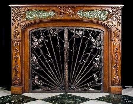 Antique Fireplace Screens Extraordinarily Elegant Ember