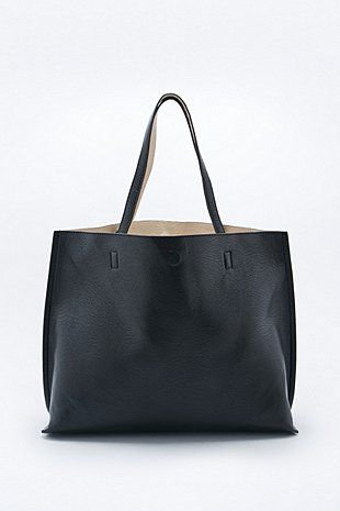 Reversible Vegan Leather Oversized Tote Bag Oversized Tote Bag Bags Leather