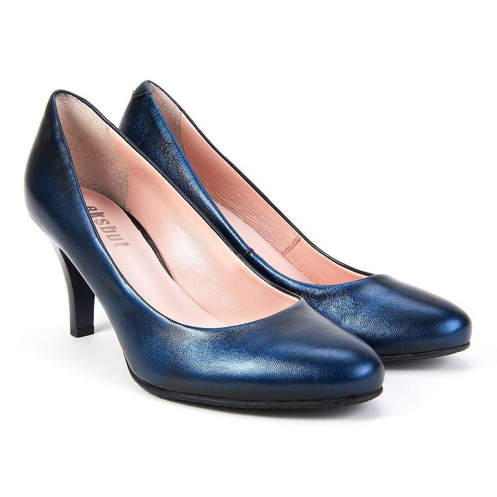 Czolenka Eksbut 14 2937 F63 1g Czarny Niebieski Czolenka Na Obcasie Czolenka Na Koturnie Czolenka Buty Damskie Filippo Pl Heels Kitten Heels Shoes