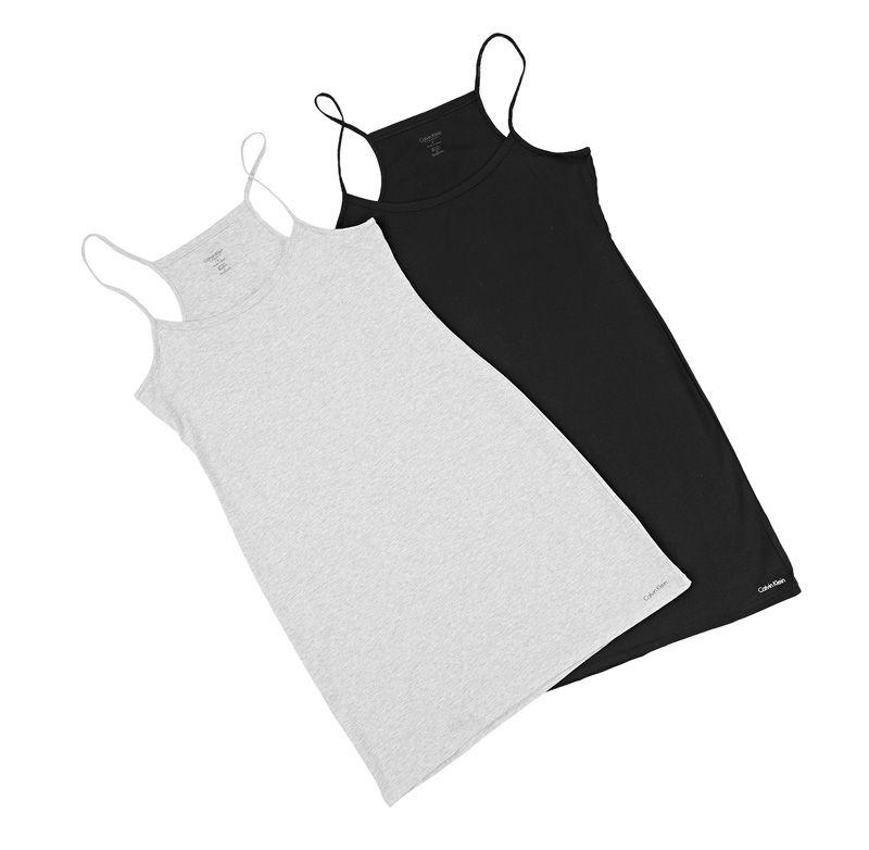Naisten trikoo yöpaita, 30 €. Värit harmaa ja musta. Norm. 56 €. Calvin Klein Underwear, 2. KRS