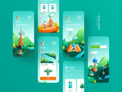 Green Island Flying Game