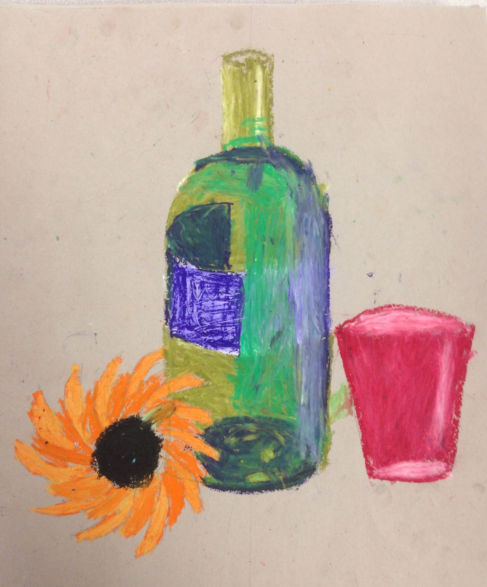 8c Oil Pastel Still Life Drawings From Observation St