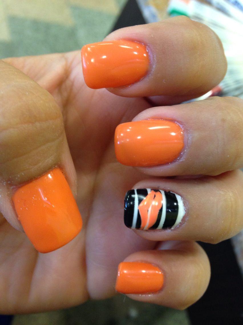 October Nails Orange nail designs - October Nails Orange Nail Designs Uñas Pinterest Orange Nail