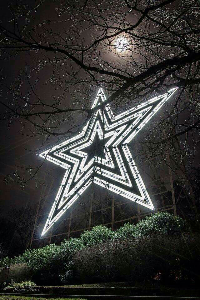 The Roanoke Star. I did my residency and fellowship in Roanoke. Beautiful picture!