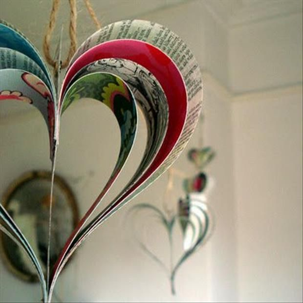Fun do it yourself craft ideas 34 pics crafts paper hearts and fun do it yourself craft ideas 34 pics solutioingenieria Choice Image