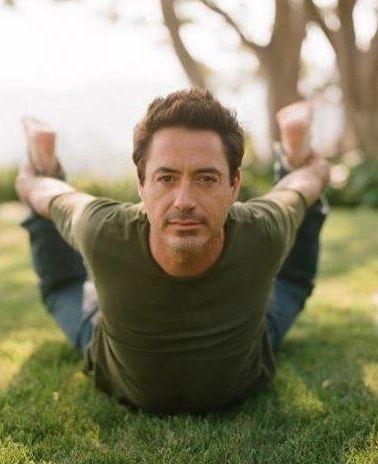 Image result for celebrity doing yoga