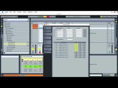 [djSHOP.pl] Ableton Live cz. 2/3: tworzenie utworu od podstaw - YouTube
