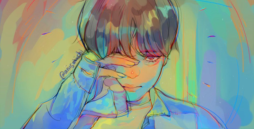 Asyu Yu On With Images Taehyung Fanart Bts Drawings