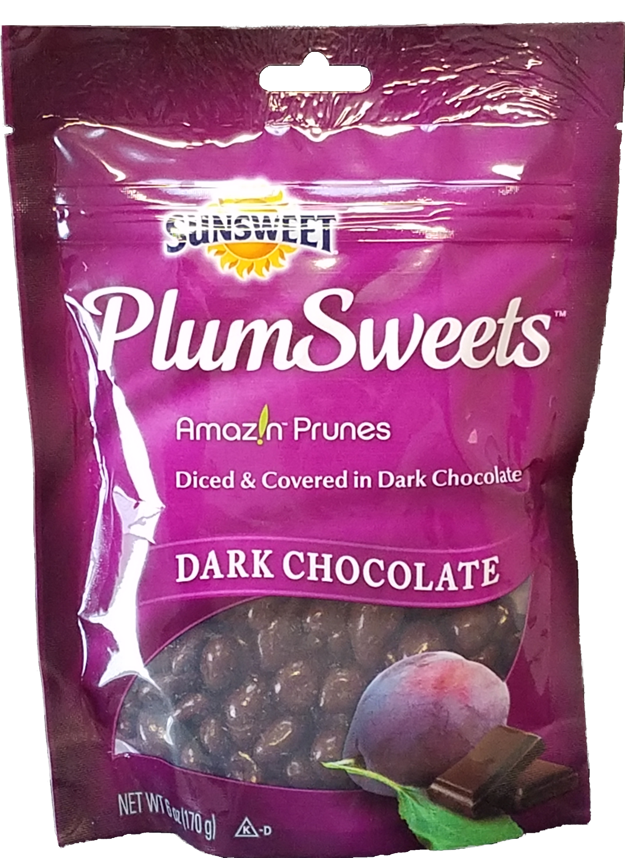 Sunsweet PlumSweets Dark Chocolate Diced Prunes