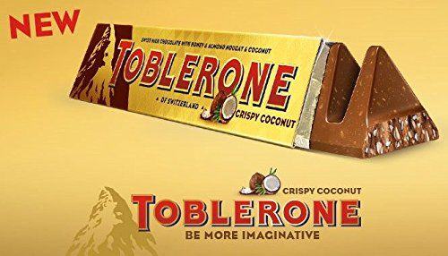 Toblerone Crispy Coconut Switzerland Toblerone Crispy Coconut