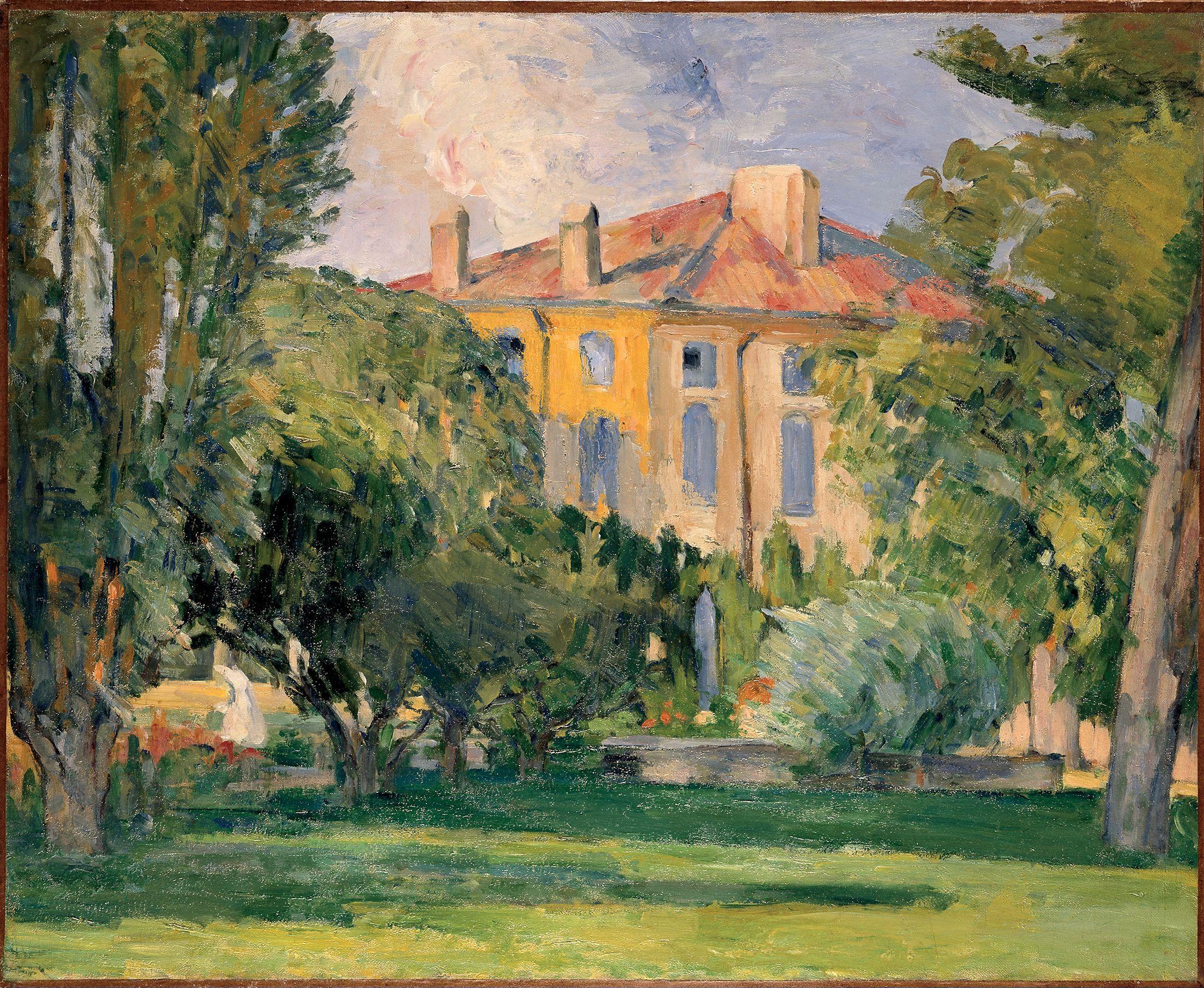 Road In Provence 1868 Paul Cezanne Paul Cezanne Cezanne Post Impressionists