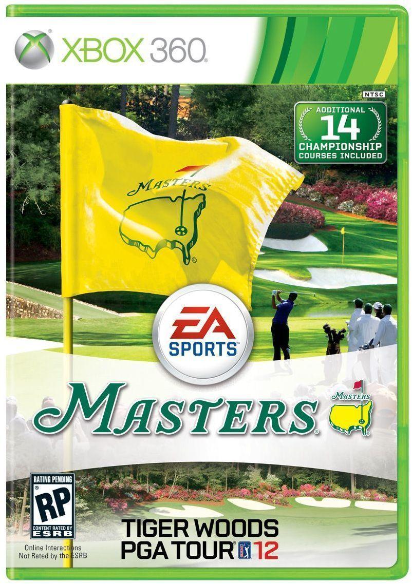 Tiger Woods PGA Tour 12 the Masters Tiger woods, Pga