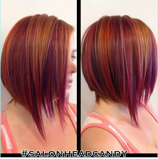Red hair with purple highlights google search hair pinterest red hair with purple highlights google search pmusecretfo Image collections