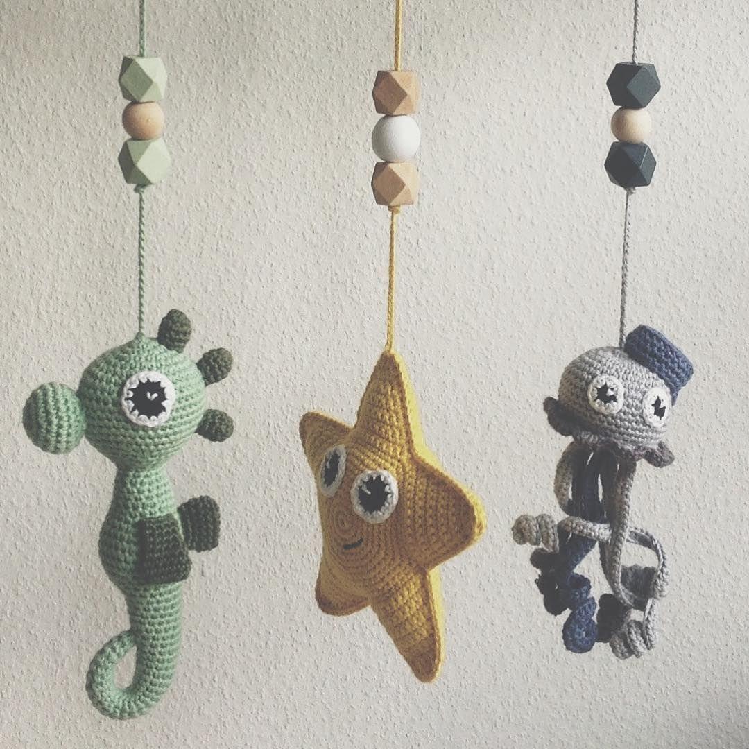 Cute seacreatures for babies | Crocheting | Pinterest | Garn ...