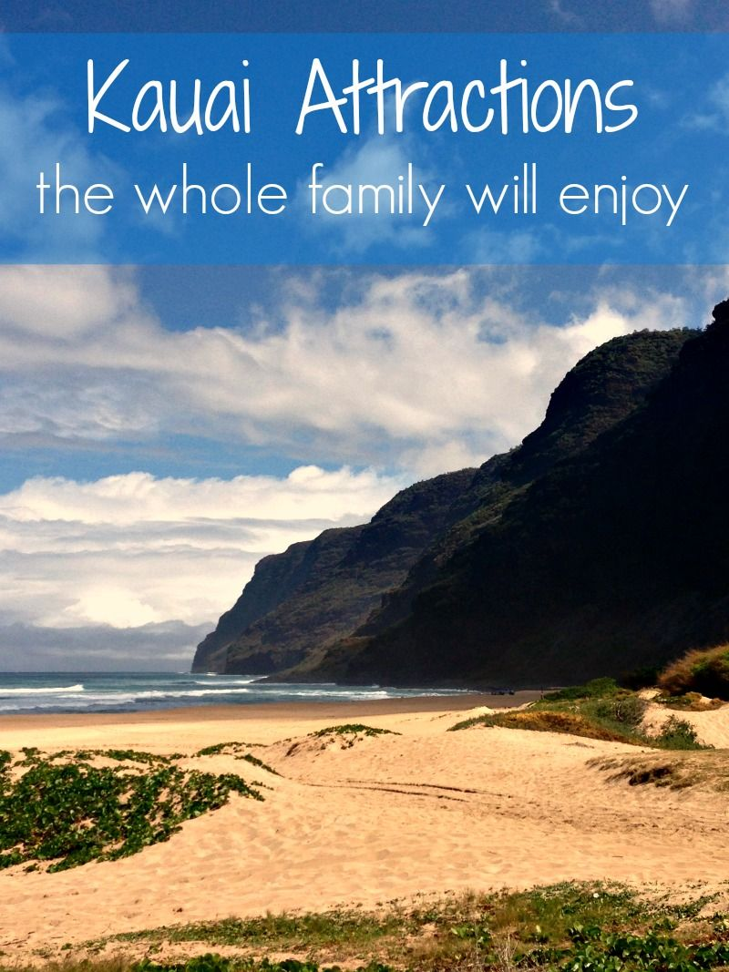 Kauai has so many exciting and fun things to do, see and enjoy for families travelling at any time of year. It's one of our favorite spring break destinations! | Hawaii travel #hawaii #kauai #usatravel