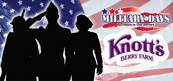 Fantastic Military Discount Offer From Knott S Berry Farm