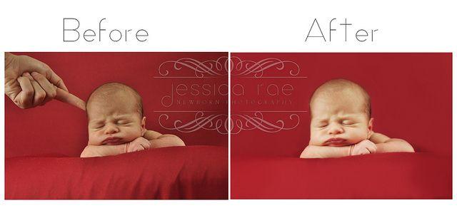 Before & After Newborn