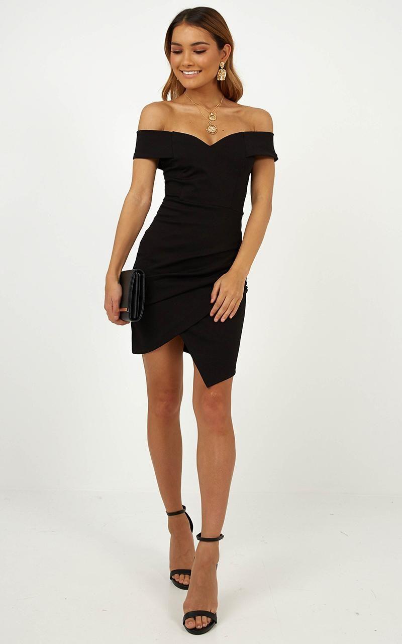 Night In Capri Dress In Black Showpo Dress Capris Dresses Party Dress [ 1280 x 800 Pixel ]