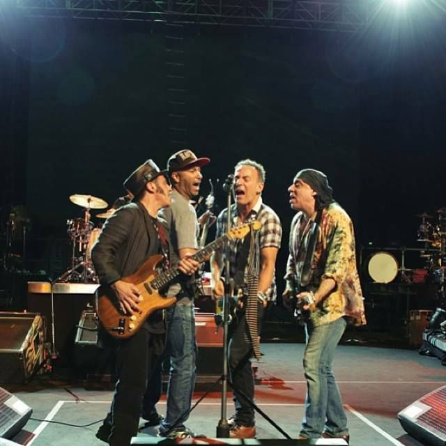 Springsteen and E Street Band rehearse for Cape Town 2014, photo courtesy brucespringsteen.net