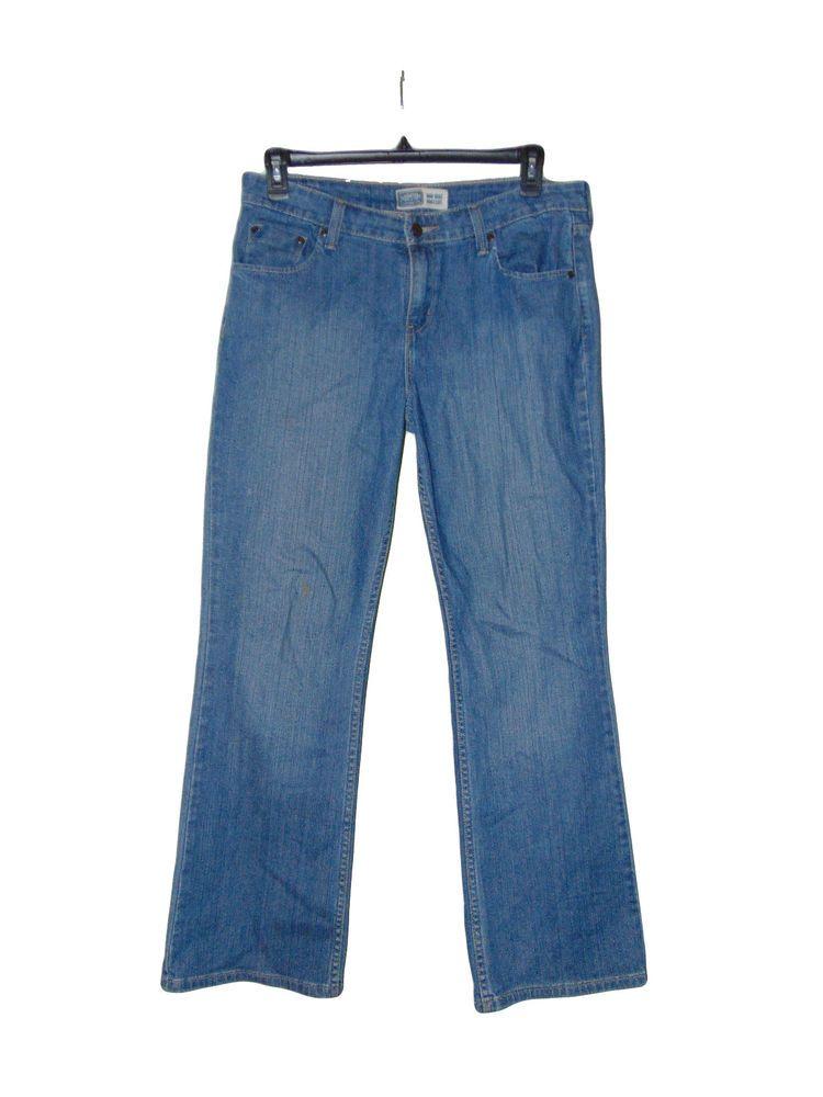 6ae885d3285 Signature Jeans Levis Levi Strauss Size Misses 12 Medium Preowned Boot Cut # Levis