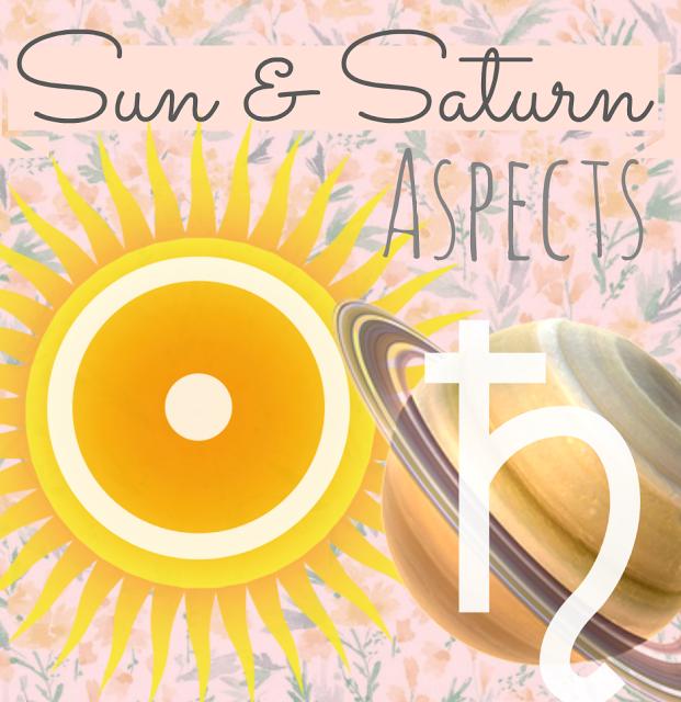 Astrology Marina: Sun Saturn Aspects ☉♄   Random   Learn