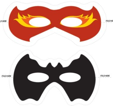 photo relating to Superhero Printable Mask identified as Free of charge Printable Superhero Masks! Print and Minimize in direction of crank out your