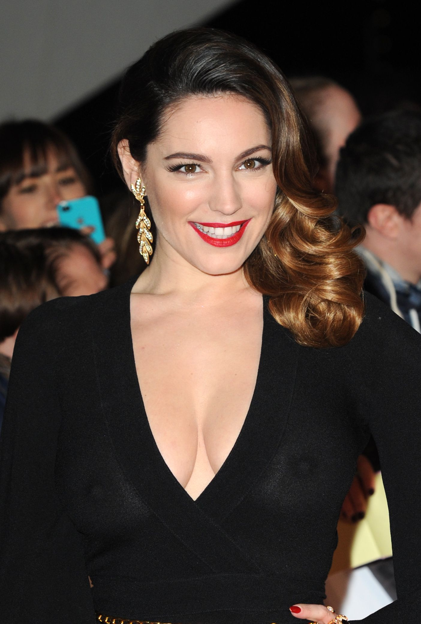 See Thru Tv Kelly Brook See Through National Television Awards In London
