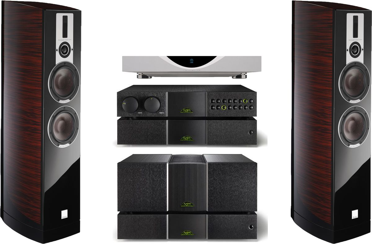 Linn Klimax Ds Digital Streaming Source Naim Nac552 Pre Amplifier Project 116 Subwoofer Amp And Power Supply