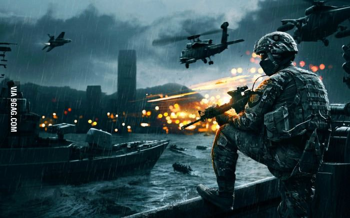 Battlefield 4 has some awesome concept art