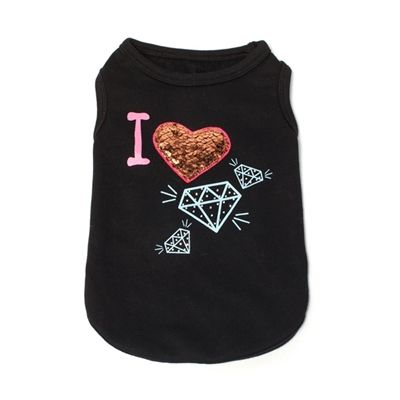 I ♥ Diamonds Tank for Dogs