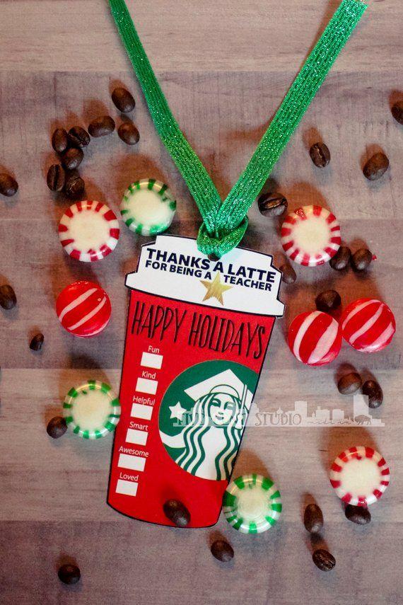 Christmas Parody.Happy Holidays Teacher Appreciation Starbucks Red Cup