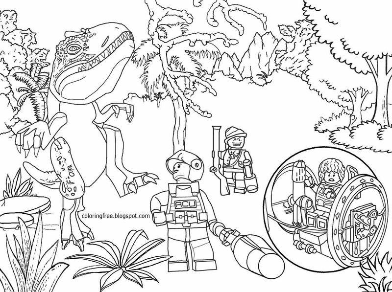 Jurassic World Jeep Coloring Pages Halaman Mewarnai Ide Dekorasi Ide