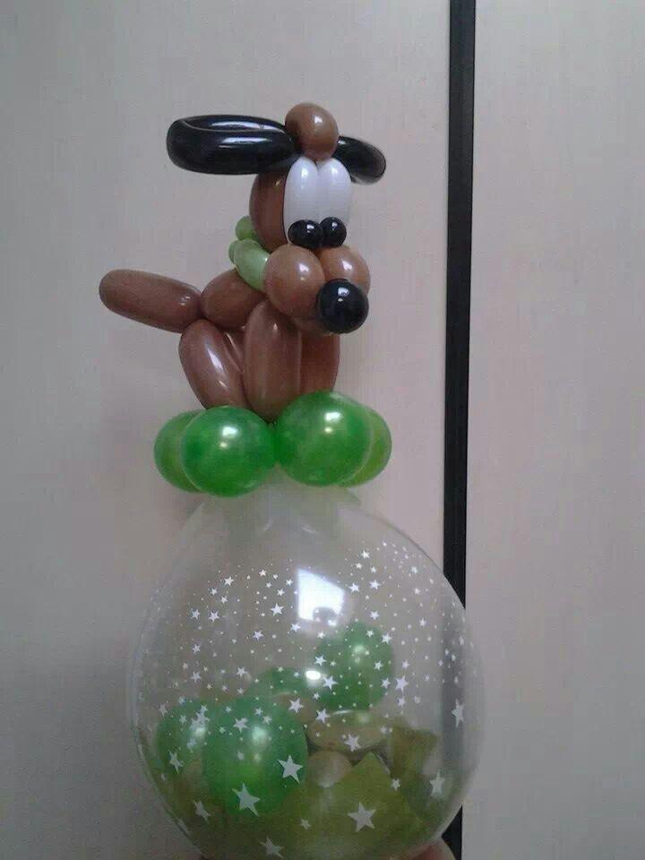 Kado in ballon hond