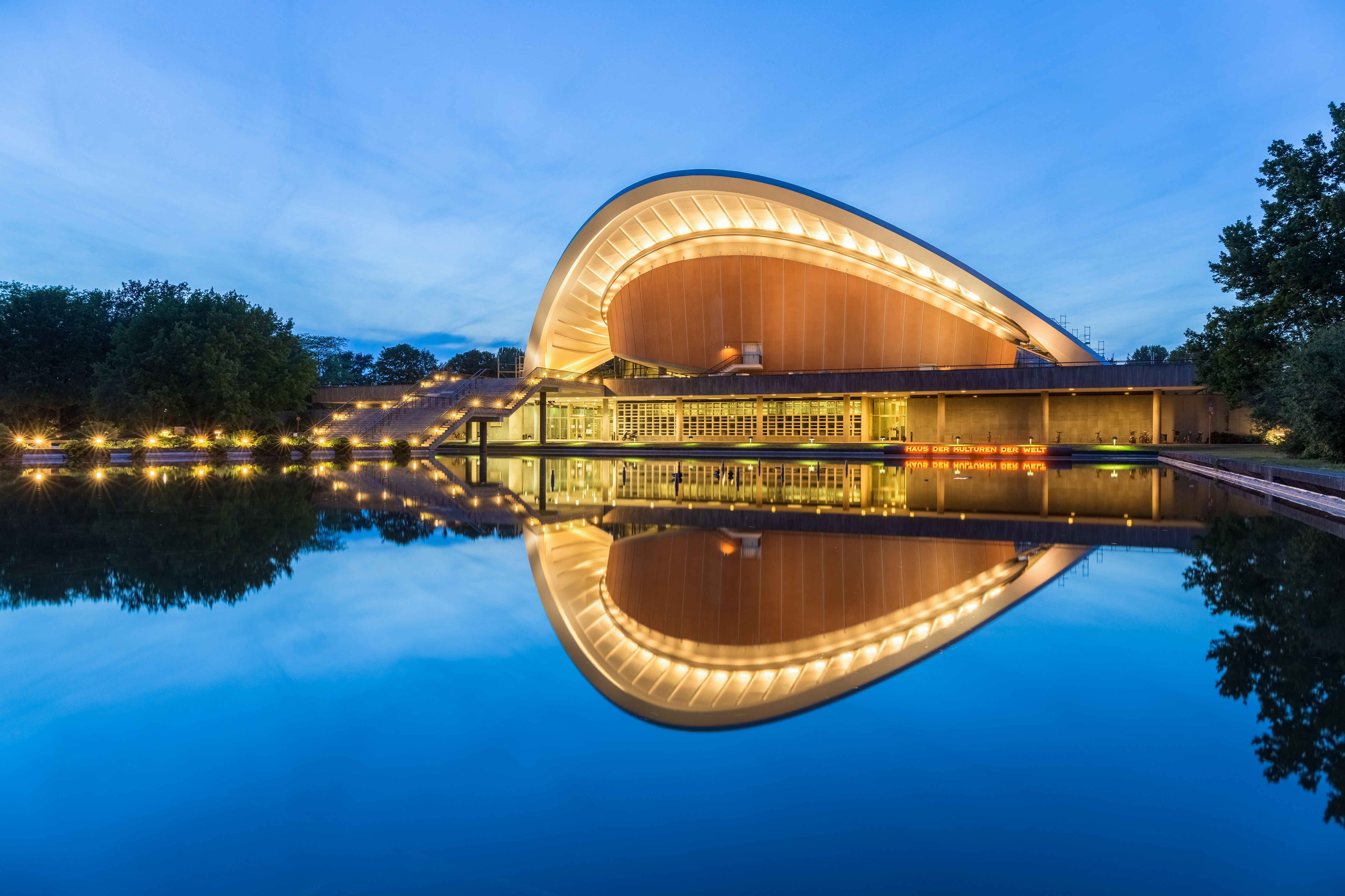 Picture Of The Day For May 20 2018 By Wikipedia Haus Der Kulturen Der Welt Berlin The Building Is Located In The Tiergarten Park It Was Formerly Known As The