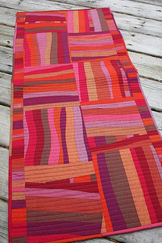 Wave runner table runner. So. Beautiful. By Cynthia Frenette!