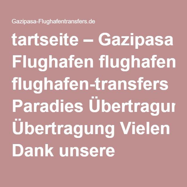 tartseite Gazipasa Flughafen flughafentransfers Im