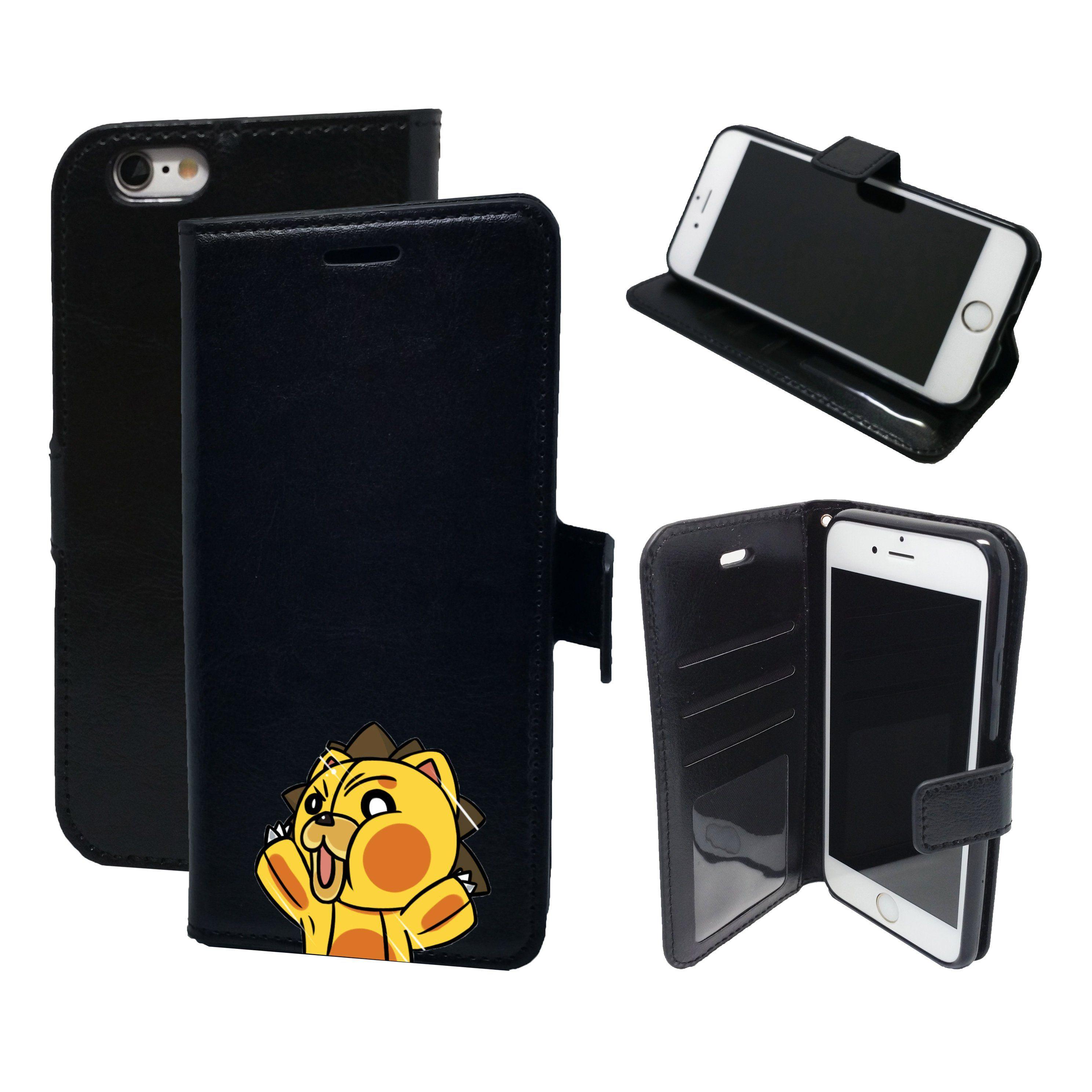 buy online defb3 e9df0 Kon Bleach Squished Face - Magnetic Wallet Card Holder Flip Case for ...