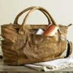 Recycled Leather Tote