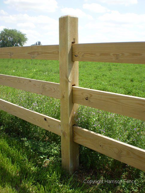 Ideal Way To Put Up Horse Fencing Ranch Fencing Farm Fence
