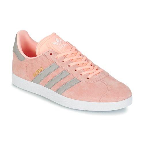 fce52a4d0c7 adidas Originals GAZELLE W Rosa - Sapatos Sapatilhas Mulher 97