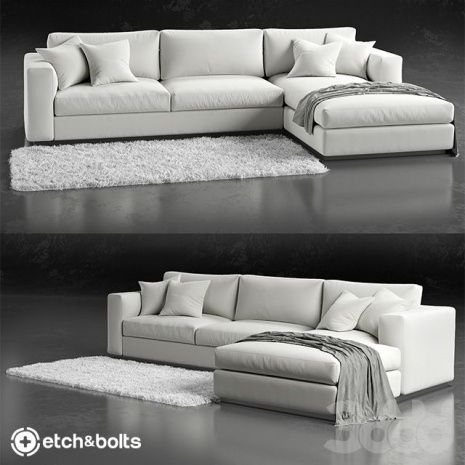 White L Shaped Couch Living Room Sofa Design Sofa Design Couch Design