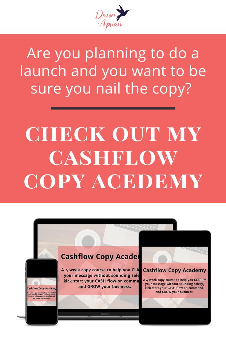 Cashflow Copy Academy Cash Flow About Me Blog Online Entrepreneur