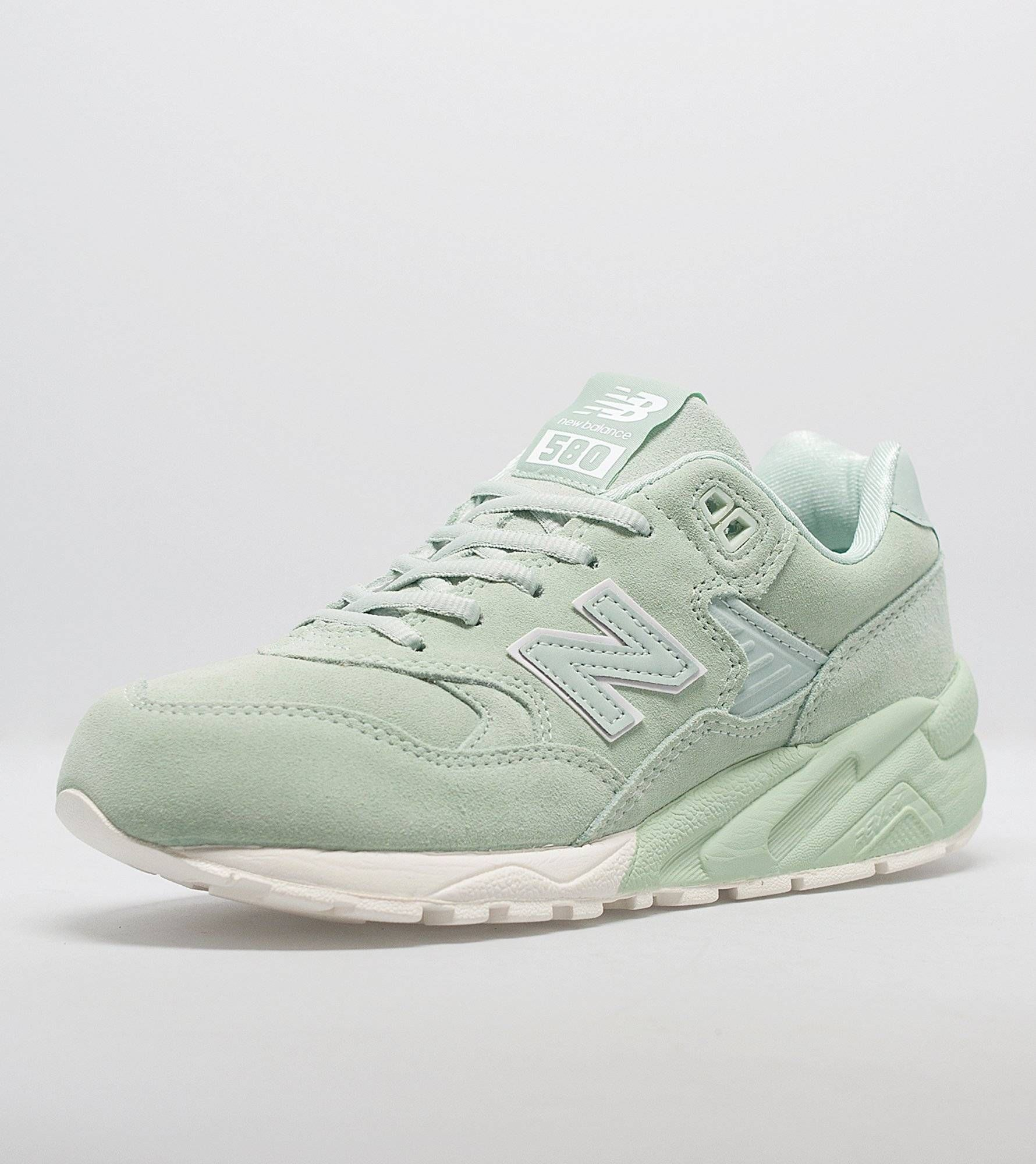 new balance green 580 trainers