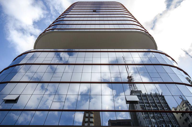 Reflexo de antena - Avenida Paulista - 2012
